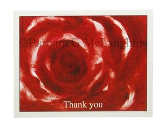 Wedding Thank You Card Set Bridal Shower Thank You Cards Blank Cards Floral Thank You Note Cards Bulk Thank You Traditional Cards Thank Yous