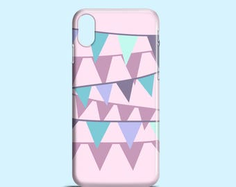 Lilac Bunting phone case / iPhone X / pastel iPhone 8 / iPhone 7 case, 7 Plus / iPhone 6, 6S, iPhone 5/5S, Samsung Galaxy S7, Galaxy S6 / S5