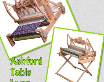 "Ashford Table Looms, 16"",24"",32"",In  4 ,8,16 shafts with optional stand :saorisantacruz"