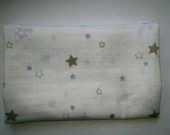 cotton Swaddle blanket organic fantasy - star