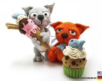 Sweet tooth crochet pattern amigurumi
