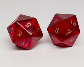 Huge 20-sided dice