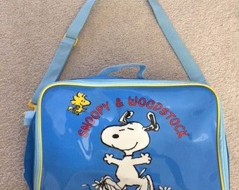 1990s Snoopy and Woodstock Peanuts Purse