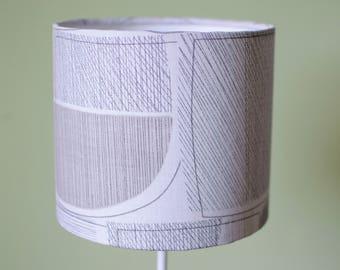 Grey lampshade, simple decor, modern lamp shade, contemporary lamp, table lamp, drum lampshade, floor lamp, ceiling lampshade, lampshade