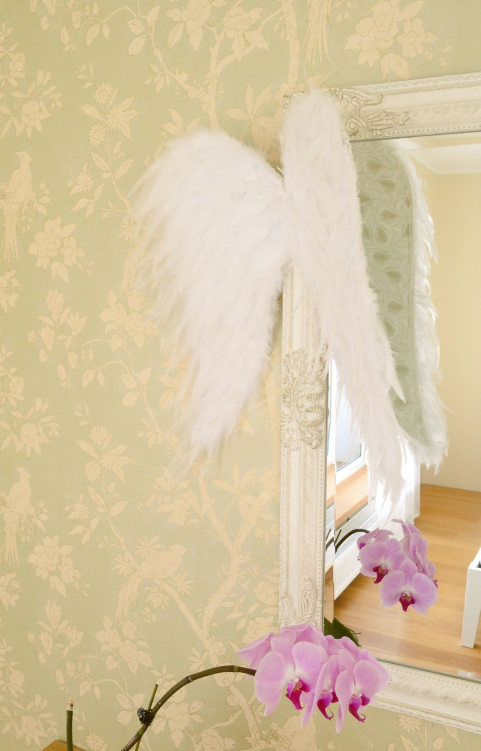 Large Angel Wings Wall Decor Christmas Gift Ailes