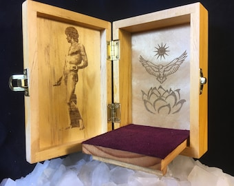 Antinous Portable Travel Altar Box