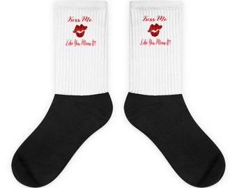 Kiss Me Like You Mean It Socks