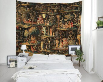 Wall Tapestries,  Indian Art Tapestries, Antique Art, Home Decor, New Home Gift, House Warming Idea
