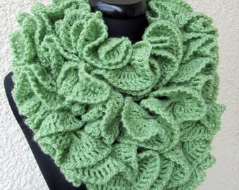 Crochet pattern scarf pattern ruffle scarf pattern unique crochet scarf pattern ruffle scarf pattern long scarf diy crochet scarf gift dt1010fo