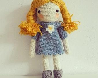 Crochet Doll - Daisy