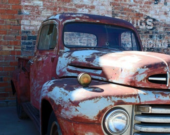 Vintage Ford Truck - Photography - Old Truck Photo - Ford - Vintage Photography - Fine Art Photography