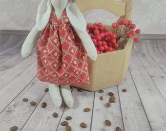 Tilda bunnies in wellies toy/ decoration handmade