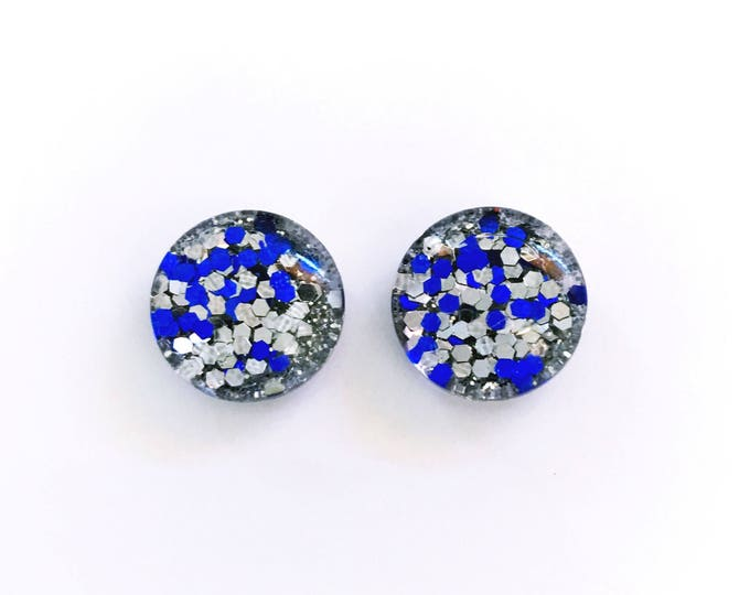 The 'Play It Cool' Glass Earring Studs