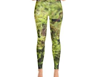 Yoga Leggings. Unique. Nature inspired. Pants. Womens leggings.