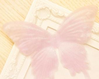 Vivid Organza Butterfly Flower Petal