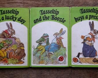 vintage ladybird books, tassletip, vintage books, Tassletip has a lucky day,  Tassletip buys a present, Tassletip and the boozle