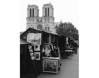 Notre-Dame in Paris, France - photography - unframed print