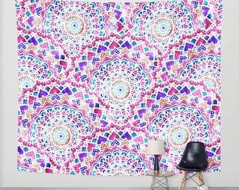 FESTIVAL MANDALAS - Bohemian Wall Tapestry
