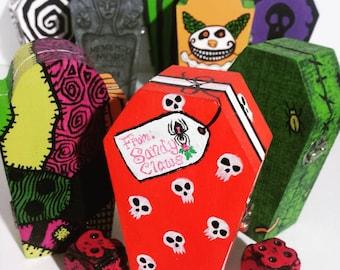 Nightmare Coffin Dice Box