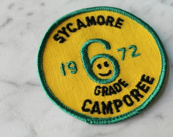 Vintage patch | Sew On | Free shipping US|