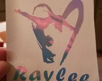 gymnast vinyl