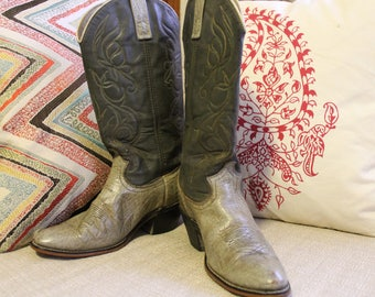 Acme Vintage Leather Cowboy/Cowgirl Boots Women's 7.5