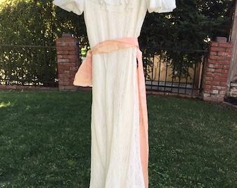 1930's Vintage Wedding Dress