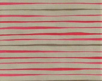 RJR Jardin Gris By Robyn Pandolph 2733 3 Pink Horizontal Lines By The Yard