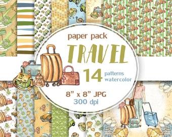 Travel digital paper pack.