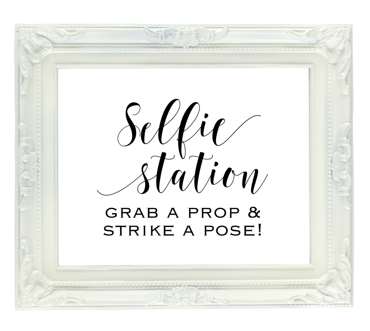 It's just a picture of Soft Selfie Station Sign Free Printable