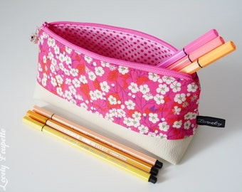 Triangle Liberty, pencil case, case school bag, makeup, pencil case, zipper pouch, make up bag, make up pouch