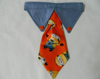 Minion Dog Necktie