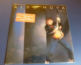 On Sale! Aldo Nova Vinyl Record LP 37498 Portrait Records 1981
