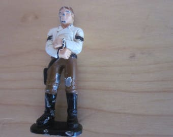 Mini Die Cast Han Solo Star Wars IV,V,VI. Made in 1982 460009 lfl. He is rough. Ships Free in USA. May The Force be With You to Own Him