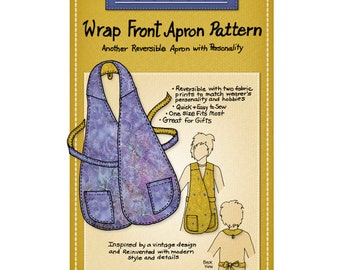 Mary Mulari Designs WRAP FRONT APRON Sewing Pattern
