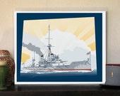 HMS Dreadnought Great War...