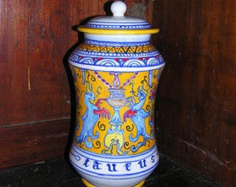 albarello pharmacy jar