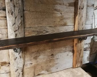 150yr old Douglas fir reclaimed wood shelf