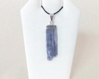 Blue or Black Kyanite Pendants