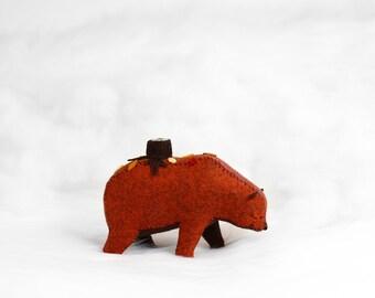 Dream Travelers - Autumn Bear / Forest Spirit Art / Woodland Art / Grizzly Bear