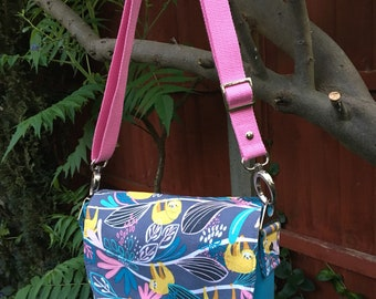 Sweatpea Saddlebag 'Sloth' messenger bag