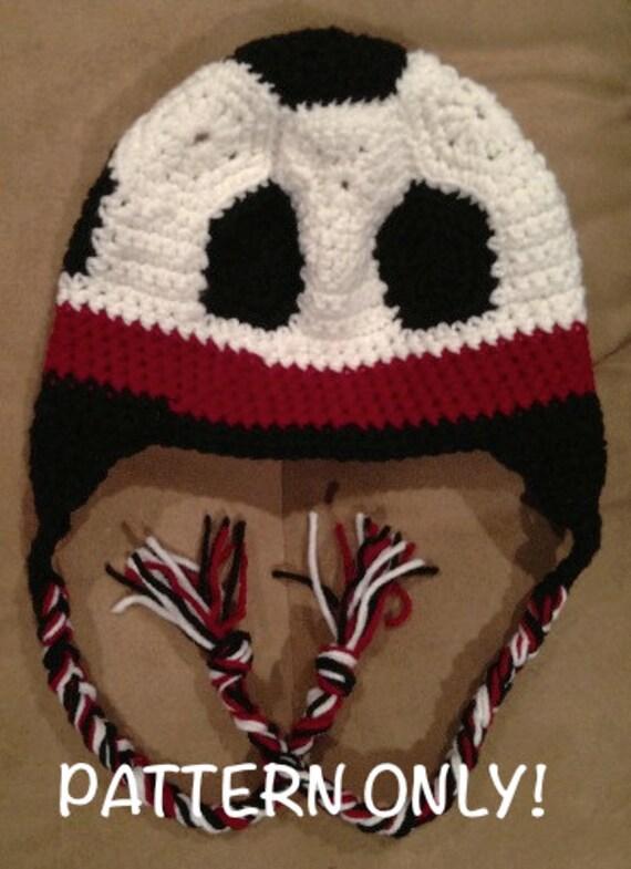 Soccer ball hat crochet pattern dt1010fo