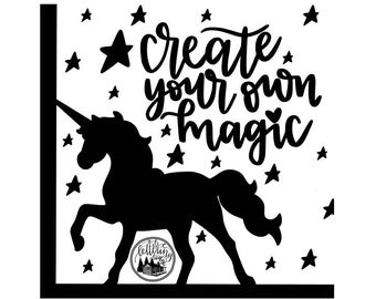 Create Your Own Magic SVG and PNG files