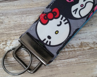 Hello Friends key fob.  jujube customs