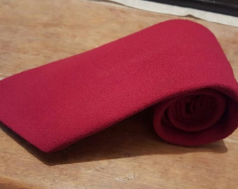 SALE - TOOTAL ~ 7o's Kipper Tie ~ Wine- Burgundy