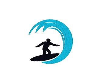 Surf Machine Embroidery Design, surfing embroidery design, surf embroidery design, surfer embroidery design, surfing pattern, surf design