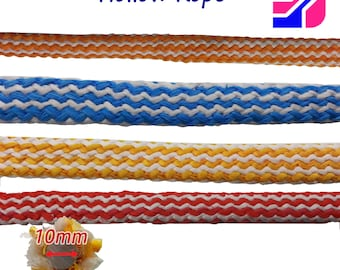 10mm Polypropolyne Tube Hollow Rope Cover Sleeve Wire Cable Sheath Protective Wires Cable