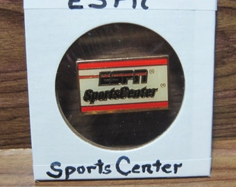 ESPN SportsCenter Lapel Pin