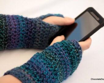 Fingerless gloves, Texting gloves, women's small