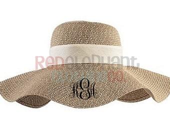 Monogrammed Floppy Hat, Monogrammed Beach Hat, Monogrammed Derby Hat, Monogram Beach Hat, Monogram Floppy Hat, Monogram Derby, Personalized